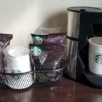in-room coffee maker